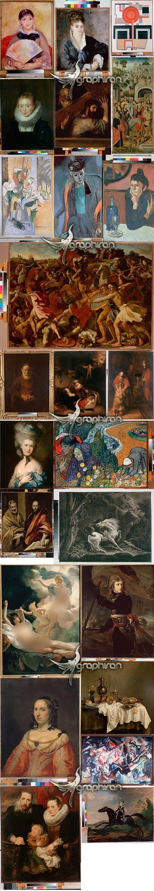 عکس های نقاشی های نقاشان بزرگ
