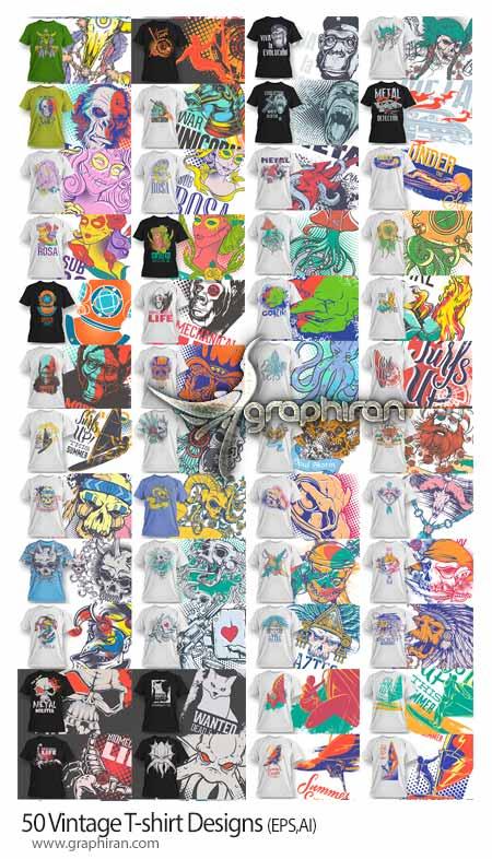 50-Vintage-T-shirt-Designs